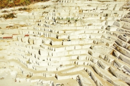 Birros Marble Quarry 2, Pirgon Quarry, near the village of Drama of Northern Greece