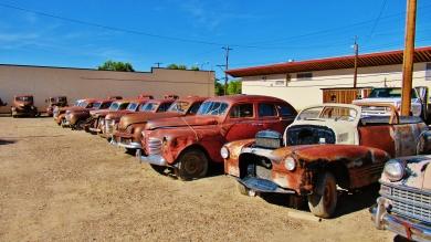Vintage Cars, Delta, Colorado